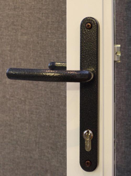 Luxury Aluminium Doors Harware Handles Letterbox