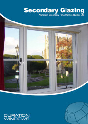 Secondary Glazing Sales Brochure