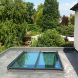 Low-lying Flat Aluminium Roof-Lites