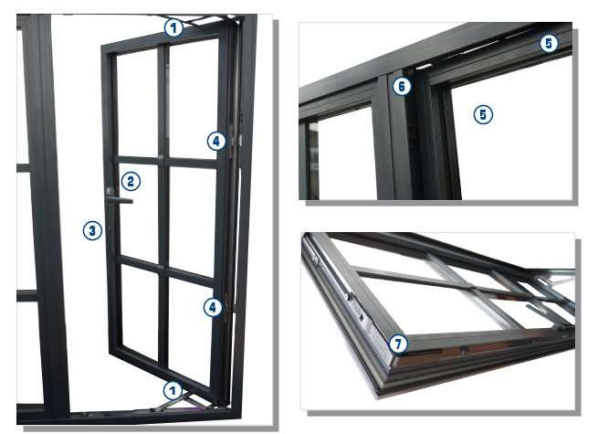 Secure Heritage Windows Steel Window Replacements High