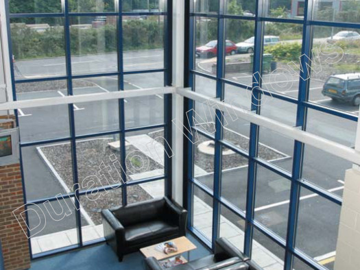 Self Supporting Aluminium Curtain Walling