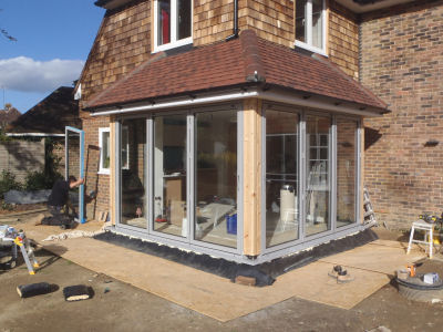 Bi-folding Door Installation