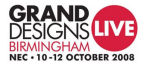 Grand Designs Live ExCeL logo